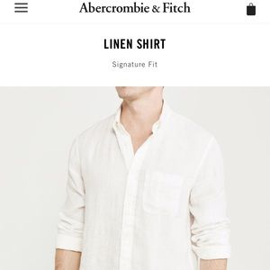 Abercrombie & Fitch Men's (M) Dress casual shirt